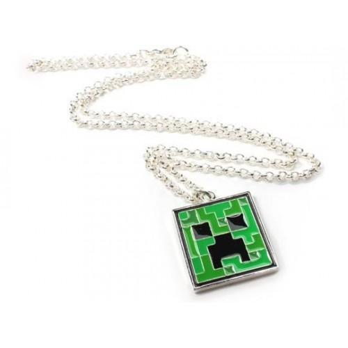 Minecraft Creeper náhrdelník s přívěskem