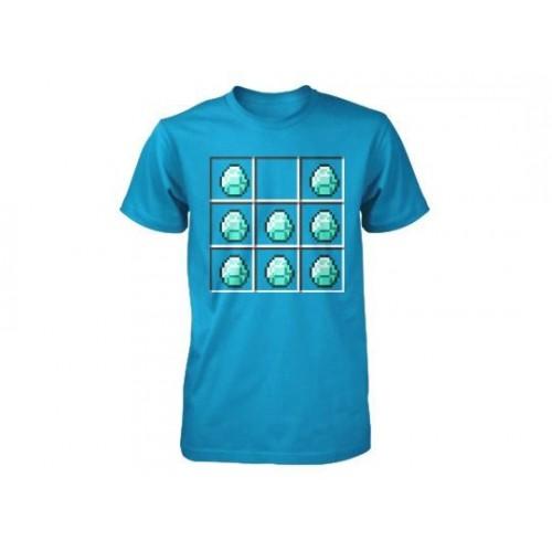 Tričko Minecraft Diamond Crafting dětské