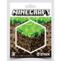 Samolepka Minecraft Dirt Block