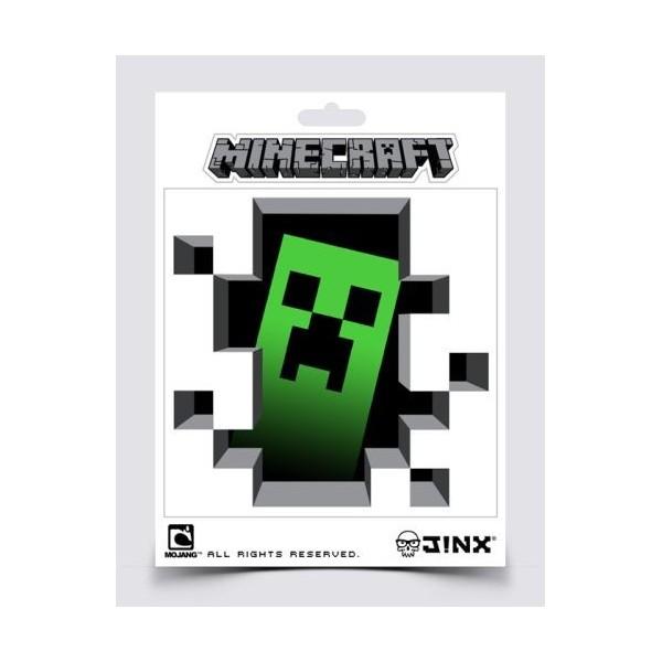 Samolepka Minecraft Creeper Inside