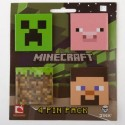 Odznáčky Minecraft Pin Pack