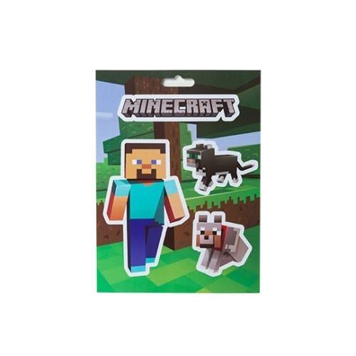 Samolepky Minecraft Steve Pets Sticker Pack