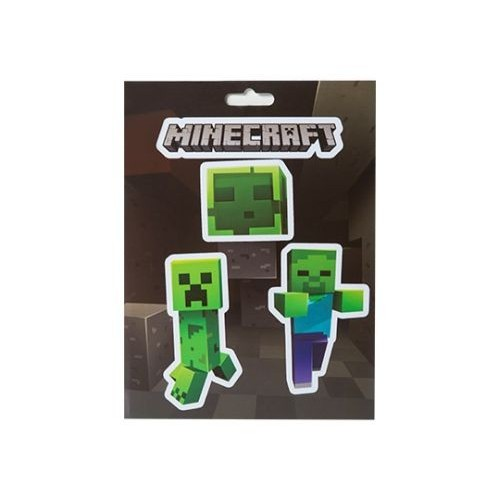 Samolepky Minecraft Mobs Caves Sticker Pack