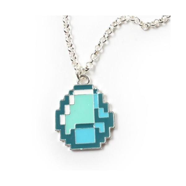 Minecraft Diamond náhrdelník s přívěskem