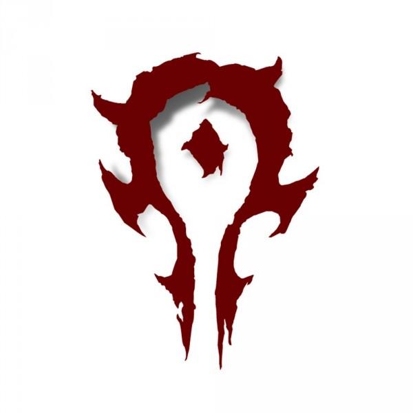 Nálepka Warcraft Movie Horde Vinyl