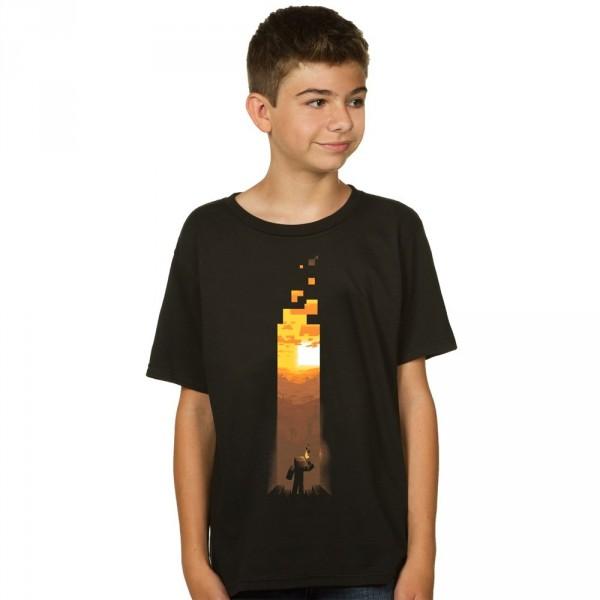 Tričko Minecraft Torch dětské