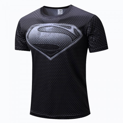 Tričko Superman Black