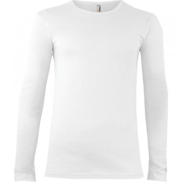 102 TRIČKO PÁNSKÉ LONG, barva 00 White, velikost S
