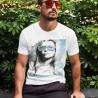 Tričko Blondýna a sluneční brýle