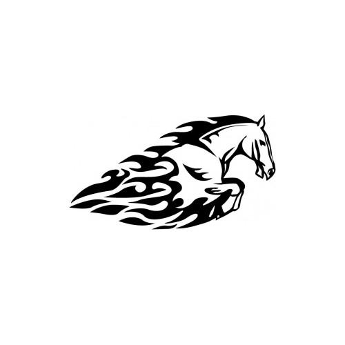 007 Kůň - reflexní