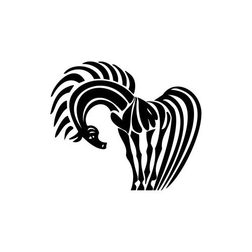 009 Kůň - reflexní