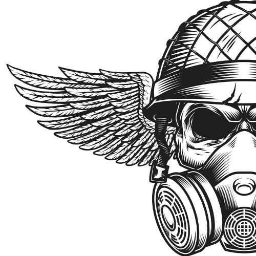 Tričko Skull Soldier