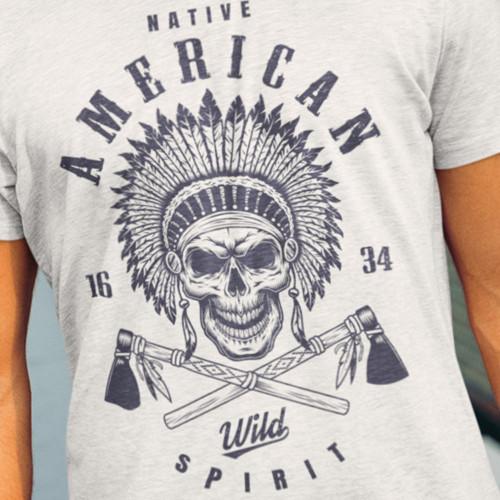 Tričko Indián - Native American