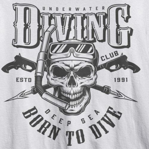 Tričko Diving