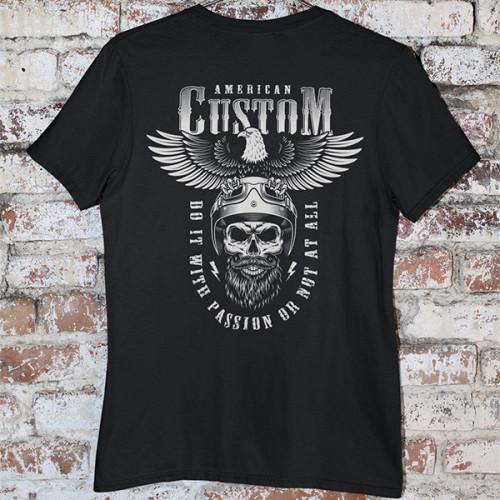 Tričko American Custom - EDITOVATELNÉ