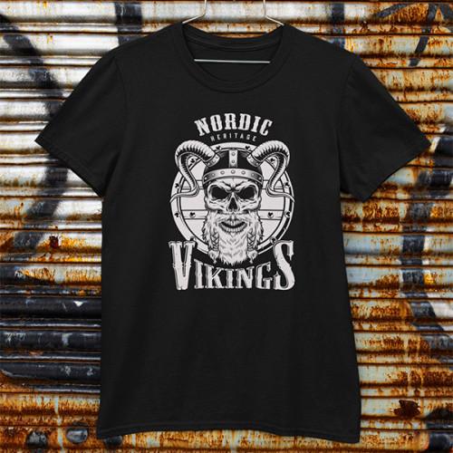 Tričko Vikings Nordic - EDITOVATELNÉ