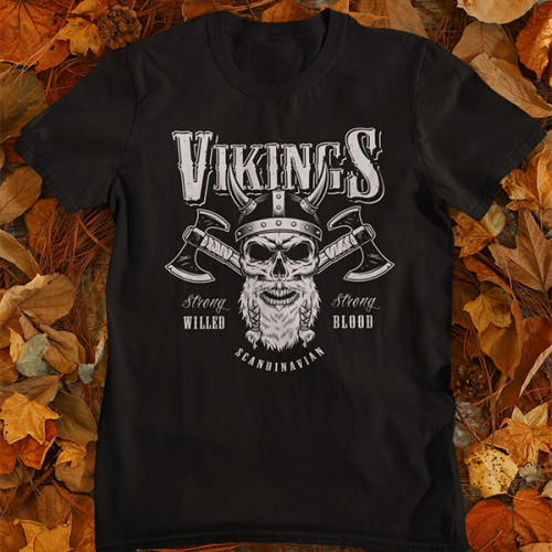 Tričko Vikings Scandinavian - EDITOVATELNÉ