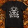 Tričko Vikings Born to Be Warrior - EDITOVATELNÉ