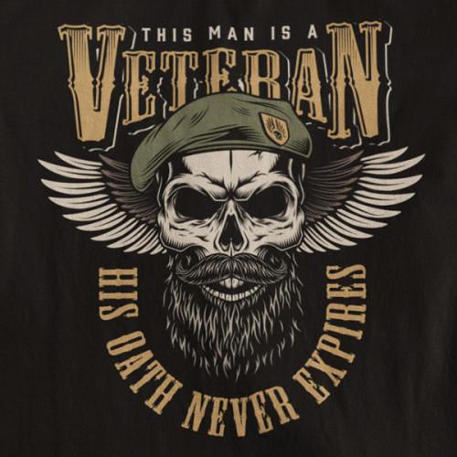 Tričko Soldiers Veteran - EDITOVATELNÉ