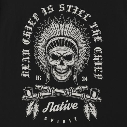 Tričko Indians Dead Chief- EDITOVATELNÉ