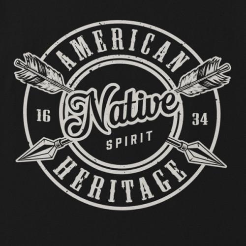 Tričko Indians American Heritage- EDITOVATELNÉ