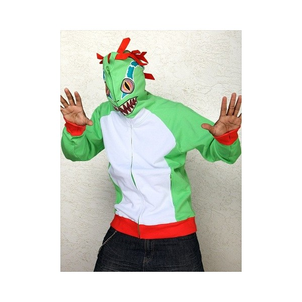 World of Warcraft Murloc Zip-Up Hoodie