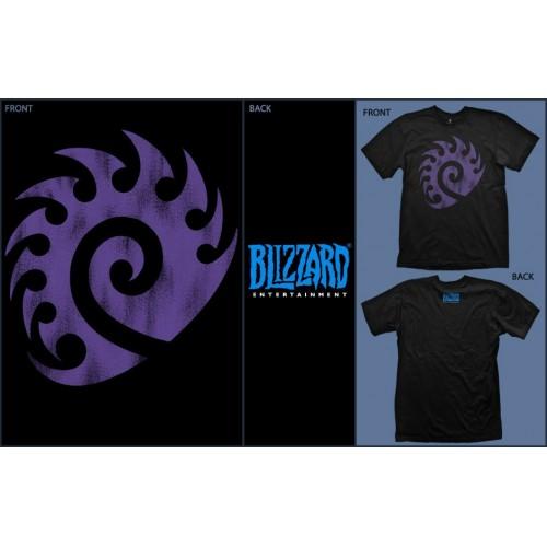 StarCraft II Zerg Vintage Logo