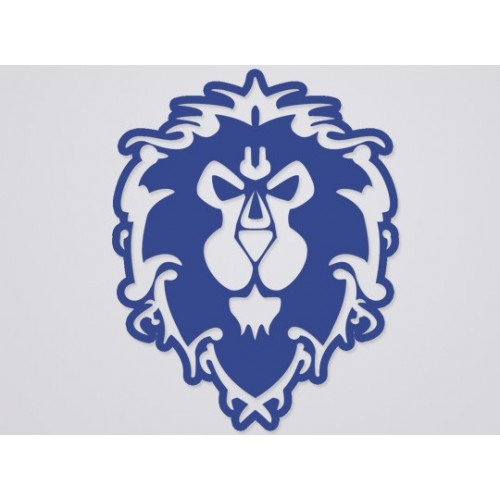 World of Warcraft Alliance Cutout Sticker