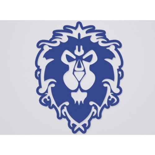 World of Warcraft Alliance Cutout Sticker