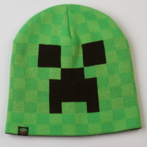 Čepice Minecraft Creeper Face