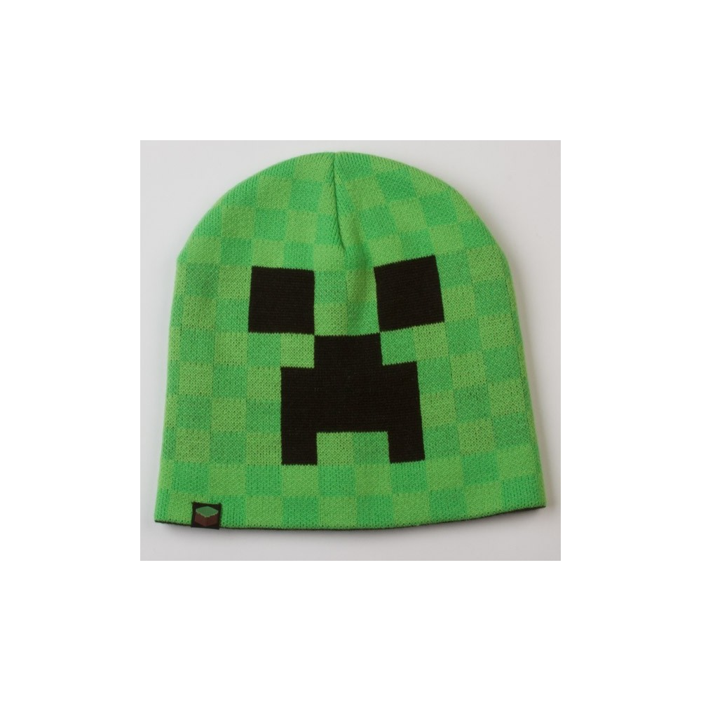 4ef1f3a07d2 Minecraft Creeper Face Beanie. Loading zoom