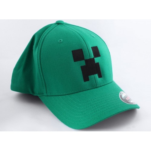 Kšiltovka Minecraft Creeper Flexfit