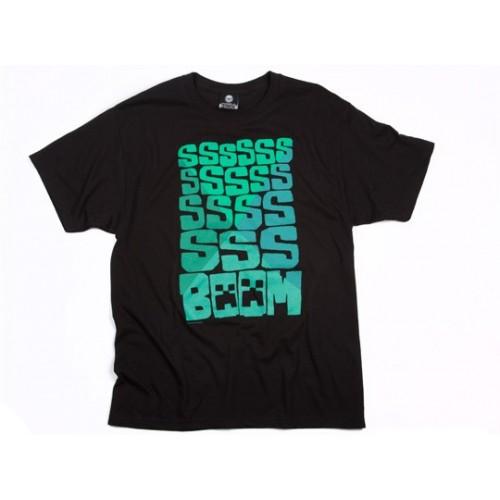 Tričko Minecraft SSS BOOM!