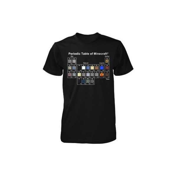 Minecraft Periodic Table Youth Tee