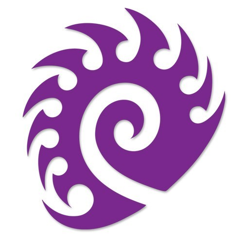 StarCraft II Zerg Cutout Sticker