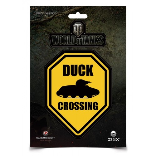 Samolepka World of Tanks Duck Crossing