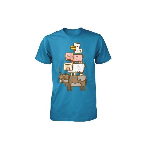 Tričko Minecraft Animal Totem dětské